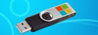 How to install Windows 8 from a USB device header