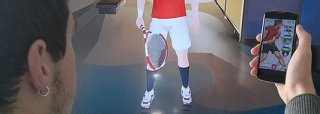 Play tennis with your smartphone like on a Wii header