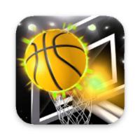 Basketball Bubble Toss Burst Free Mega Super Games icon