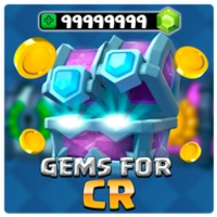Free gems for Clash Royale 2019 icon