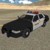Fast Police Car Driving 3D android app icon