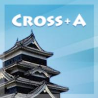 Cross+A icon
