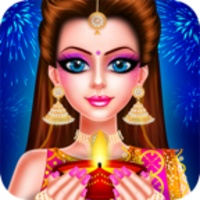 Indian Doll Diwali Celebration android app icon