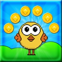Happy Chick - Platform Game android app icon