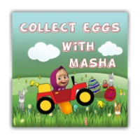 Masha collect eggs android app icon