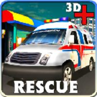 3D Ambulance Rescue Simulator android app icon