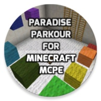 Paradise Parkour map for MCPE android app icon