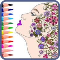 Coloring for Adults android app icon