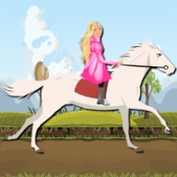 Princess Ride White Horse android app icon
