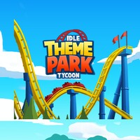 Idle Theme Park Tycoon android app icon