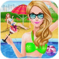 Crazy Girls Pool Party android app icon