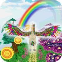 Unicorn Dash Fly Pegasus android app icon