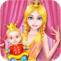 Queen Anna Give Birth A Baby android app icon