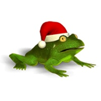 Christmas Super Frog icon