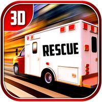 City Ambulance Rescue Drive 3d