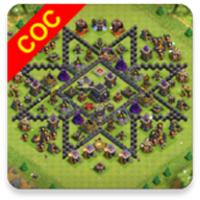 CocMaps android app icon