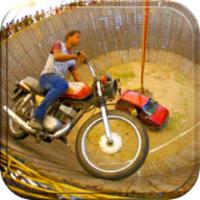Well Of Death Stunt Rider