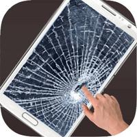 Broken Screen -Cracked Screen android app icon