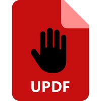 PDF Unshare icon