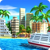 Tropical Paradise: Town Island android app icon