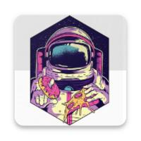 Stickers de Astronautas