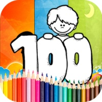 Coloring 100 Days School android app icon
