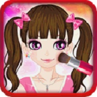 Cute Girl Makeover android app icon