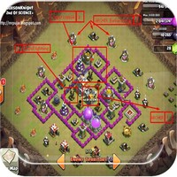 Strategy war coc android app icon