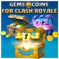 Gems & Coins for Clash Royale 2019 icon