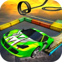 Impossible Car Tracks 3D android app icon