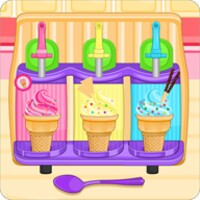 Cone Cupcakes Maker android app icon