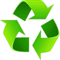 Recycle android app icon
