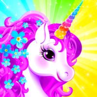Unicorn Dress Up android app icon