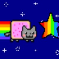 Nyan Cat Snake android app icon