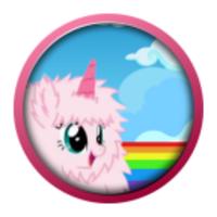 Fluffy Unicorn Dash android app icon