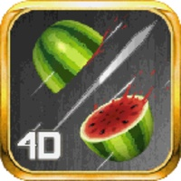 4D Fruit Slice android app icon