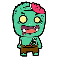 Hungry Zombie android app icon