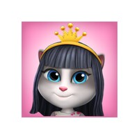 Talking Cat Lily 2 android app icon