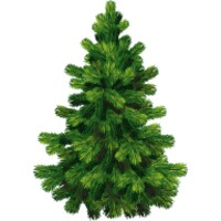 Christmas tree decoration android app icon