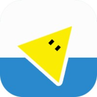 Jumping Triangle android app icon