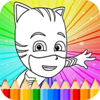 Coloring Book HD PJ Masks android app icon