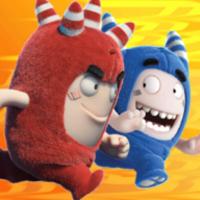 Oddbods Turbo Run android app icon
