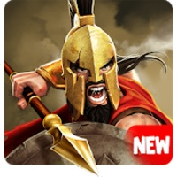 Gladiator Heroes Clash android app icon