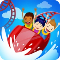 Click Park Idle Building Roller Coaster Game android app icon