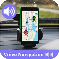 Voice GPS Driving Navigation and Satellite Maps