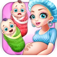 Newborn Twins Baby Care android app icon