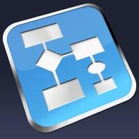ClickCharts Free Diagram and Flowchart Maker Mac icon