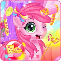 Baby Pony Grooming Makeover android app icon