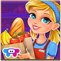 Supermarket android app icon
