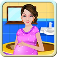 Pregnant Women Bathing android app icon